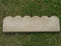 Ivy Leaf Border Concrete Mold 5009