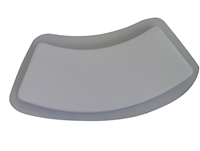 Plain Curve Border Concrete Mold 5010