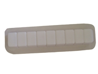 Brick straight border concrete mold 5013