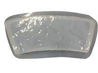 Rock Curved Border Concrete Mold 5015
