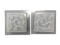 Leaf Border Concrete Plaster Mold 6017