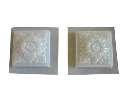 Decorative Tile Mold 6023