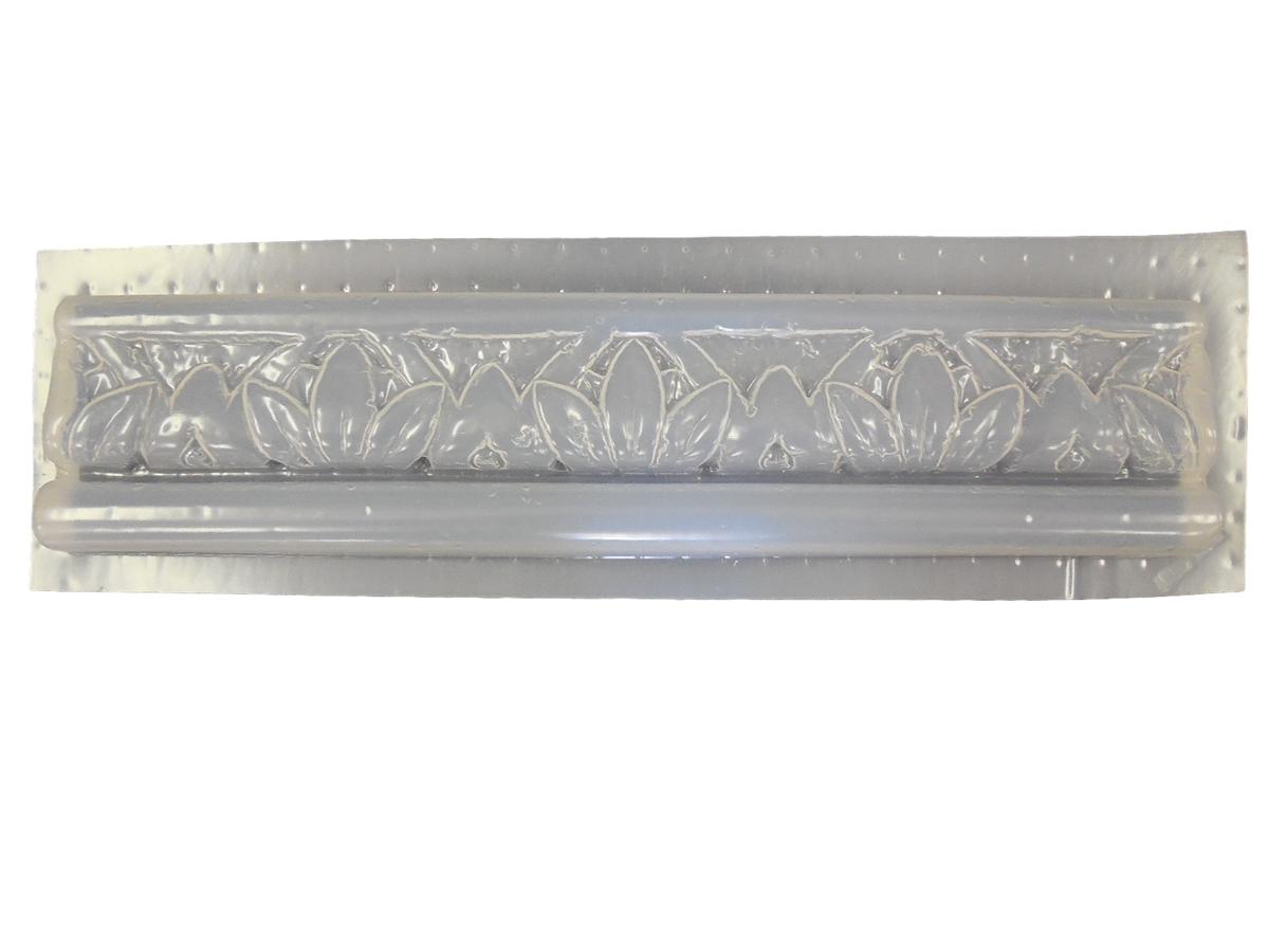 Swirl Braid Tile Trim Border Plaster or Concrete Mold Set 6016 Moldcreations