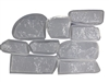 Ledge Stone Concrete Mold Set 6034b