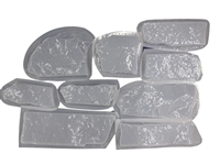 Ledge Stone Mold Set 6034b