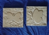 Butterfly Tile Plaster Concrete Mold Set 6037