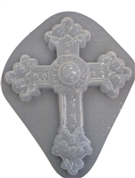 Cross Plaster or Concrete Mold 7000
