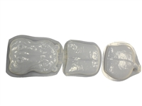 Hippo concrete stepping stone mold 7015