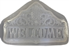Pineapple welcome plaster concrete mold 7020