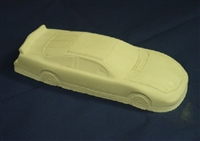 Race Car Plaster Cement Mold 7022