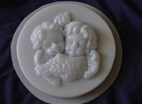 Cherub Angels Concrete Mold 7029