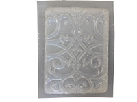 Floral Swirl plaster or concrete Mold 7044