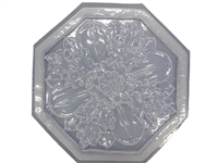 Floral plaster or concrete mold 7073