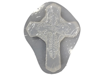 Slate Cross Plaster Concrete Mold 7088