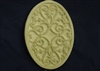 Decorative Plaque Plaster or Concrete Mold 7094