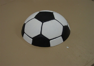 Soccer Ball Plaster or Concrete Mold 7098