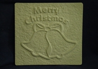Christmas Bells Plaster Concrete Mold 7101