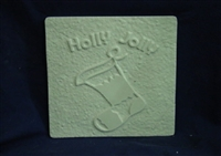 Stocking Plaster or Concrete Mold 7102