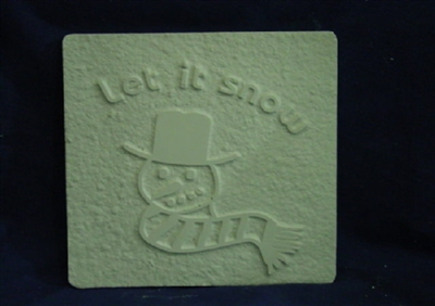 Snowman Plaster or Concrete Mold 7104