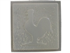 Rooster Plaster or Concrete Mold 7117