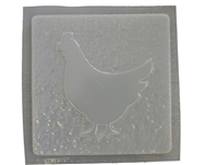 Chicken Plaster or Concrete Mold 7118