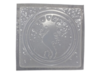 Seahorse Plaster or Concrete Mold 7123
