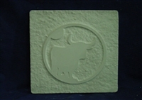 Steer Plaster or Concrete Mold 7127