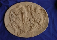 Angels stepping stone concrete Mold 7162
