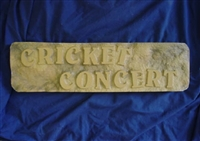 Cricket concert concrete Mold 7176