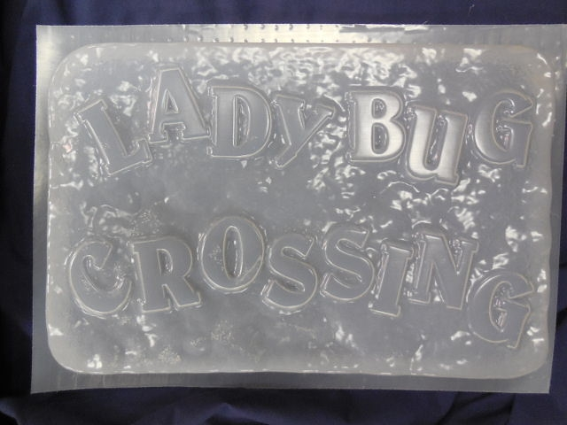 Birdhouse Bless Our Nest Plaque Plaster or Concrete Mold 7157 Moldcreations