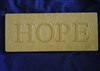 Hope plaster concrete Mold 7179