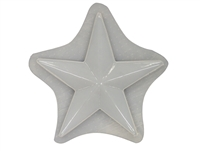 Star plaster concrete Mold 7196