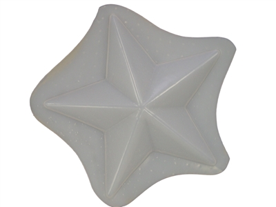 Star plaster concrete mold 7211