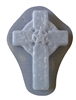 Western cross concrete mold 7217