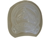 Horse head welcome concrete mold 7220
