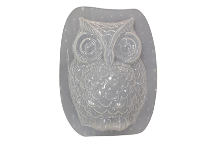 Owl Plaster or Concrete Mold 7229