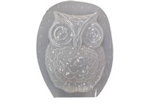 Owl Plaster or Concrete Mold 7230