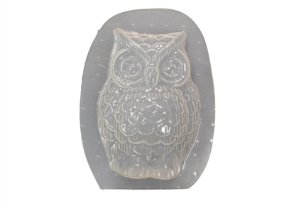 Owl Plaster or Concrete Mold 7231