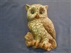 Owl plaster or concrete Mold 7250