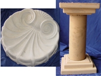 Birdbath Concrete Mold Set 8505