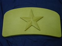 Star Bench Top Concrete Mold 9014