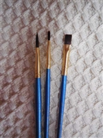 Set of 3 Paint Brush's