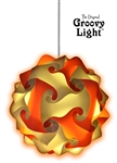 The Original Groovy Light Puzzle Light - Bursting Fireball
