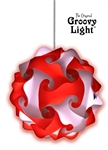 The Original Groovy Light Puzzle Light - Unite Edition (Red/White)