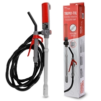 TREP01-TXL - Telescopic Battery Powered Transfer Pump with 10-ft Hose