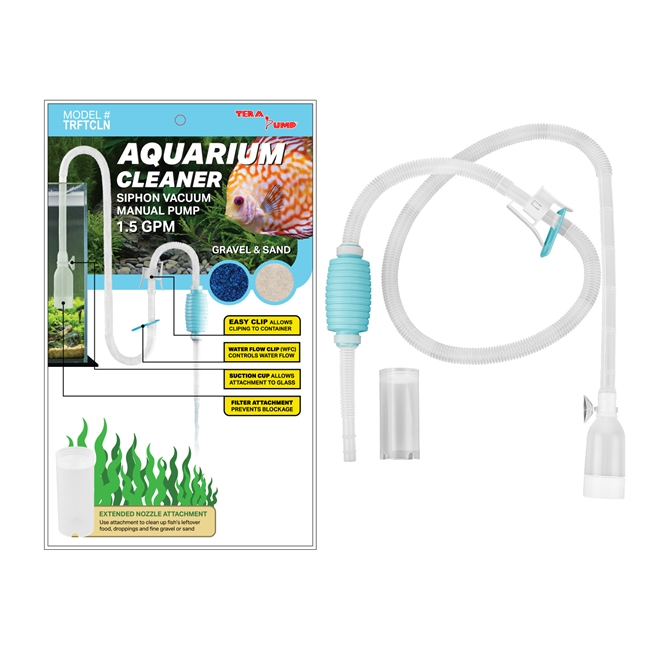 TRFTCLN - Aquarium Gravel Cleaner - BPA-Free (1.5 GPM)