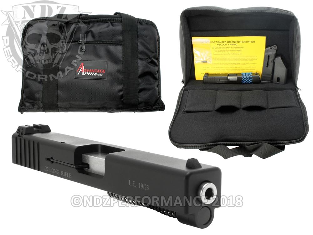 Advantage Arms  22lr Conversion Kit for Glock 19 23 25 32 Gen 1-3 ONLY
