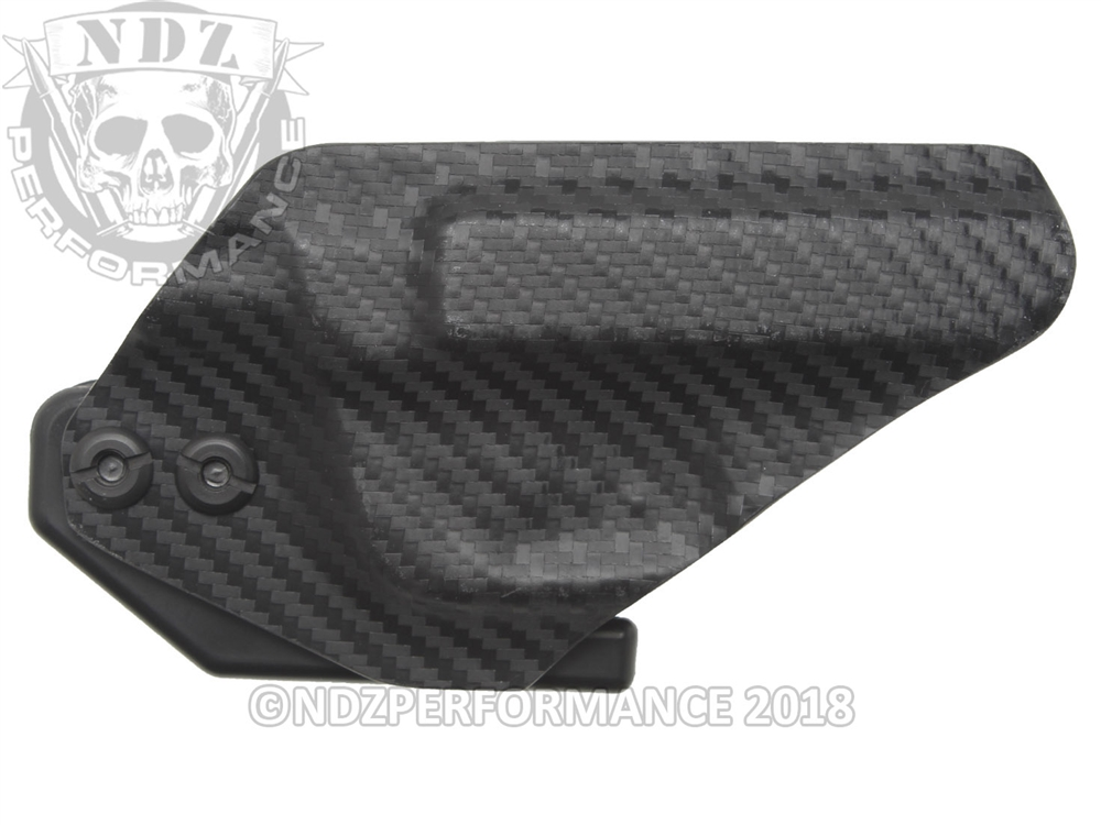 Bad Bones Tactical IWB Spartan Stealth Minimalist Holster for Ruger LCP 2  Carbon Fiber