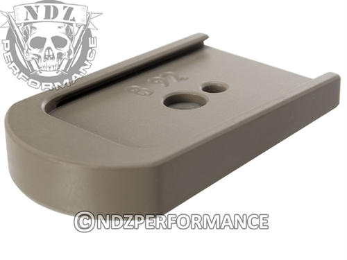 NDZ Cerakote FDE Magazine Plate for Beretta 92, 96 & clones