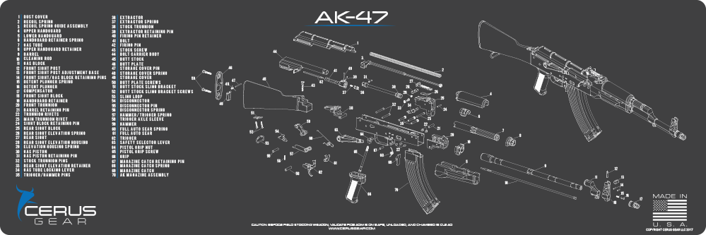 Ak 47 Schematic With Parts List Electrical Wiring Diagrams